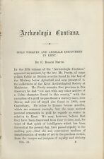Gold Torques & Armillae Discovered in Kent  (1860)