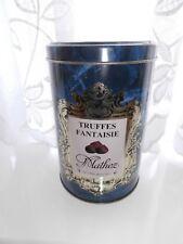 """""""Truffes fantaisie"""" blue storage tin."""