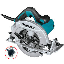 "Makita 220volt HS7610 185mm 7-1/4"" Corded Circular Saw"