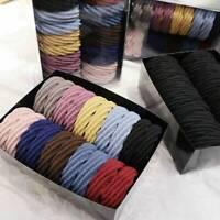 20pcs Girls Women elastic hair ties band rope ponytail bracelets scrunchie lot