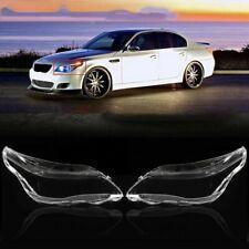 Car Headlight Cover  Head lamp Lens Glass for BMW 5 E60 E61 525i 530i 545i 550i