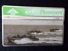 Old BT Phonecard Motor Torpedo Boats D-Day 20