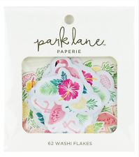 Park Lane Washi Flakes 62/Pkg-Tropical 15964984 NEW