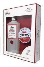 Cremo Hair Styling Kit: Daily Care Shampoo (16 oz) & Polish Hair Pomade (4 oz)