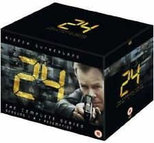24 Complete TV Series DVD Collection  50 Discs Box Set: Season 1 to 8  New