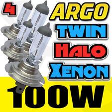 4x XENON Halógeno CLARO H7 100w / 100w 12v Super Brillantes