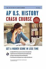 AP U.S. History Crash Course Book + Online (Advanced Placement ... Free Shipping
