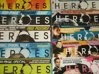 Heroes & Heroes Reborn Official Magazines (You Select) Save The Cheerleader! TV