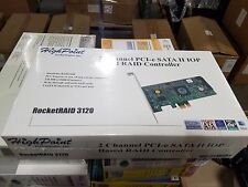 HighPoint RocketRAID 3120 PCI-E x1 SATA II 3Gb/s 2 Channel RAID Controller Card