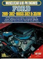 Ford 289 302 Boss 302 & 351W Engine Mustang Torino Fairlane Galaxie Falcon Book