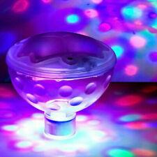 LED Wasserdichter Unterwasser Durable Lichtshow Lampe Partei Licht Tub Favo M4V1