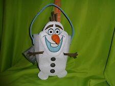 Disney Store Frozen OLAF SNOWMAN OPEN PURSE TOTE Bag NEW WITH REMOVABLE NOSE