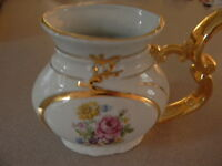 1980s VINTAGE PORCELAIN DRINKING CUP FOR MINERAL SPRING WATER CZECHOSLOVAKIA