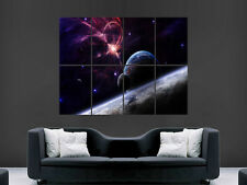 PLANETS STARS EARTH GALAXIES SPACE ART WALL LARGE IMAGE GIANT POSTER