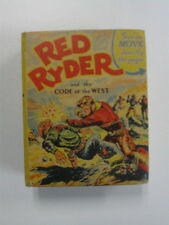 BIG LITTLE BOOK #1427 RED RYDER AND THE CODE OF THE WEST vf 1941