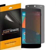 2X Supershieldz Privacy (Anti-Spy) Screen Protector Shield For LG Google Nexus 5