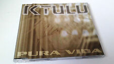 "KTULU ""PURA VIDA"" CD SINGLE 3 TRACKS COMO NUEVO"