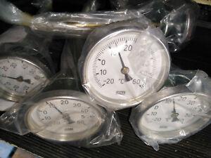 WIKA Bimetall Zeigerthermometer Ø80mm Thermometer Luftmessung -20°bis+60°C TL185