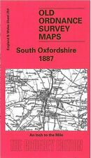 MAP OF SOUTH OXFORDSHIRE 1887