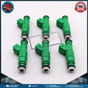 Set of 6 42LB 440cc Fuel Injectors 0280155968 for Ford GMC BMW