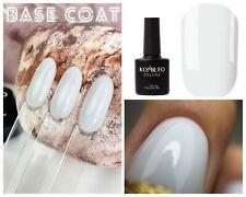 Komilfo Bright White Base Cover White Base Coat French  Ombre Polish Nail art