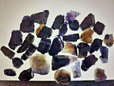 30 x Blue John Crystal Fluorite Specimens LAPIDARY Castleton England Gems 47g #4
