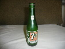 VINTAGE 7-UP SODA BOTTLE - 7 OUNCE  -  GULFPORT MISS