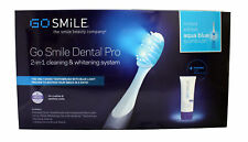 Go Smile Dental Pro 2 in 1 Cleaning & Whitening System Aqua Blue