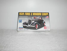 2006 Lindberg 1934 Ford 3 Window Coupe Model Kit # 72133 - 1/32nd Scale - NIB -