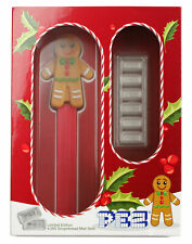 6 Piece Set PAMP Gingerbread Man Pez Dispenser 5g Silver Bar GEM Reverse Proof