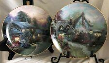Two (2) Thomas Kinkade's Beautiful Collectible Plates