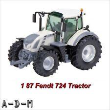 Schuco Fendt 724 Vario Tractor White/Grey Scale 1:87 Diecast Model