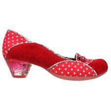 Zapatos de tacón de mujer Irregular Choice color principal rojo