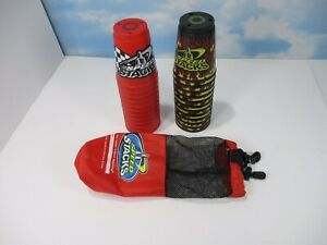 Speed Stacks Cups in 2 Stacks of 12 Flame 12 Red 24 Total Cups 1 Bag EUC B2
