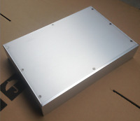 New aluminum  amplifier chassis /home audio amplifier case (size 380*70*258MM)