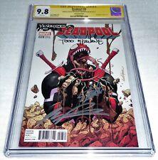 Deadpool #28 CGC SS 3x Signature Autograph STAN LEE MCFARLANE LIEFELD Venomized