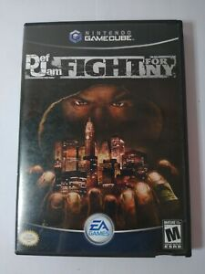 Def Jam: Fight for NY Nintendo GameCube 2004 w/Case No Manual.  Tested Authentic