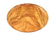 Assiette apéritif bois d'olivier D20