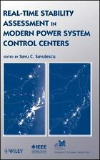 Real-Time Stability Assessment in Modern Power System Control Centers: By Sav...