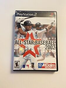 All-Star Baseball 2002 Sony Playstation 2 PS2 Video Game - Retro Sports