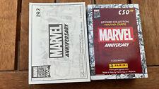Panini Marvel Anniversary 80 Years Set Completo 192 Figurine e 50 cards