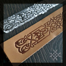 Celtic Belt Embossing Stamp #S-004. For embossing VegTan Tooling Leather