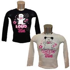 Jersey Mädchen Hello Spank Love T-Shirt Lange Ärmel Mädchen 15511