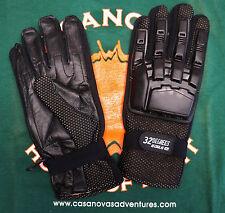 Paintball Gloves 32 Degrees Black Full Padded Finger Men'S Xl New Closeout Sale!