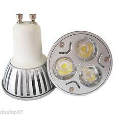 Bombilla Led GU10 (3x1W) 220V Lámpara downlight Bajo Consumo Luz Fría