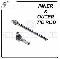 Vauxhall Agila & Suzuki Swift Inner & Outer Tie Rod End Steering Track Rod