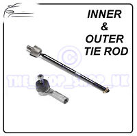 Vauxhall Vectra B & Saab 9-5 Inner & Outer Tie Rod End Steering Track Rod
