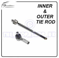 FIAT 500 07- & 500 C 09- LEFT Inner & Outer Tie Rod End Steering Track Rod