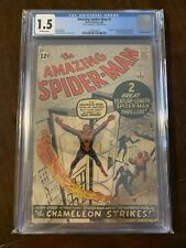 Amazing Spider-Man #1 CGC 1.5 MEGA GRAIL 1963 key issue Don't Miss Out! 🔥🔥🔥