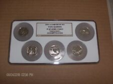 2003 S CLAD 5 COIN STATE QUARTER PROOF SET NGC PF69 ULTRA CAMEO (IL,AL,ME,MO,AR)